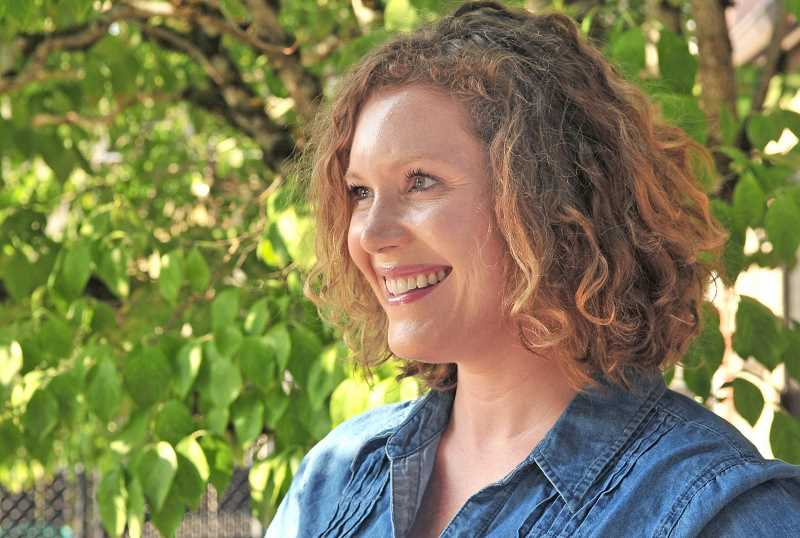 REVIEW PHOTO: VERN UYETAKE - Emma Burke says shes running for a City Council seat in order to provide a voice for underrepresented communities, including Lake Oswego parents.