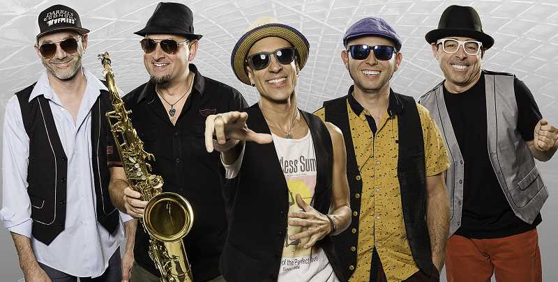 COURTESY PHOTO - Hit Machine will bring its own brand of fun and great sounds to the Rotary Club of Wilsonville summer concert Aug. 2.