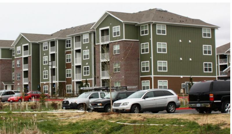 COURTESY: METRO - The Sunset View Apartments in Beaverton is an example of the kind of affordable housing units that can be built if the Metro bond measure and the proposed amendment to the Oregon Constitution both pass at the Nov. 6 general election.