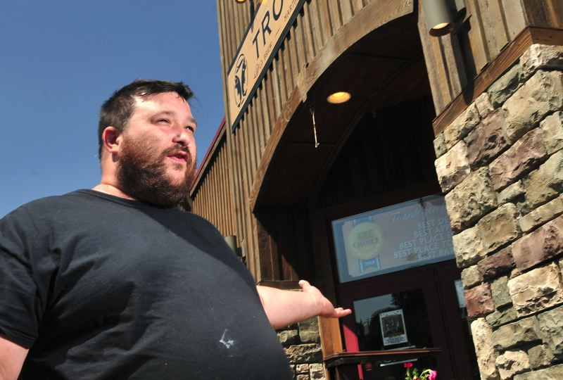 PAMPLIN MEDIA GROUP: VERN UYETAKE - Troutini Chef Nick LaShomb talks about how he has no plans to change the restaurant's straw usage unless required by law.
