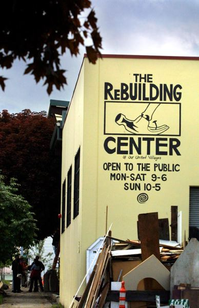 TRIBUNE FILE PHOTO - The ReBuilding Center on North Mississippi in Portland provides educational space in addition to its retail operations.