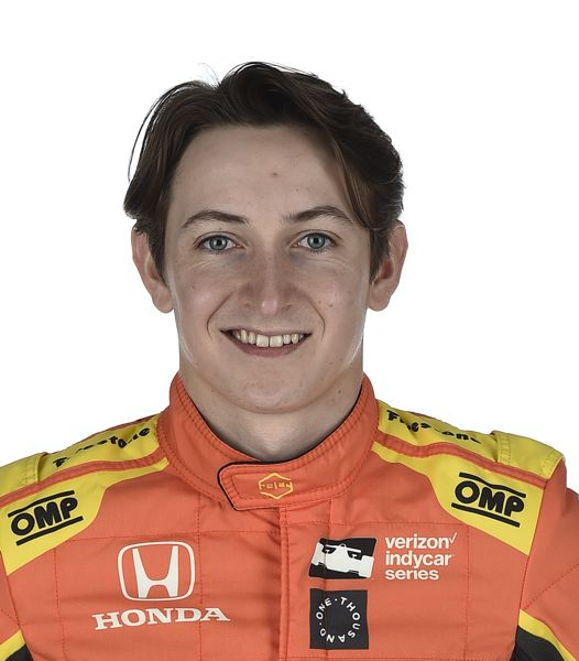COURTESY OF INDYCAR.JPG - Zach Veach