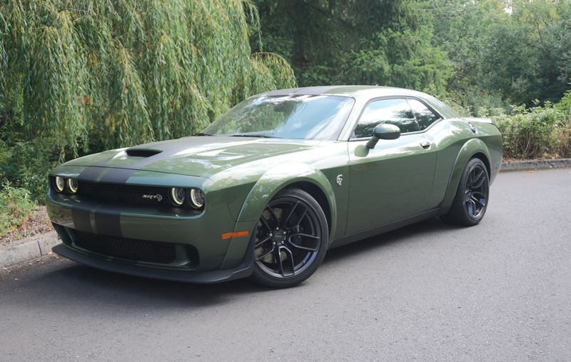 PORTLAND TRIBUNE: JEFF ZURSCHMEIDE - There is nothing subtle about the looks of the 2018 Dodge Challenger SRT Hellcat Widebody. You can expect to attract a lot of attention on the road.