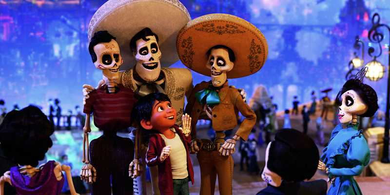 COURTESY PHOTO - This weeks free family film at Shute Park, Coco will be screening in Spanish with English subtitles.