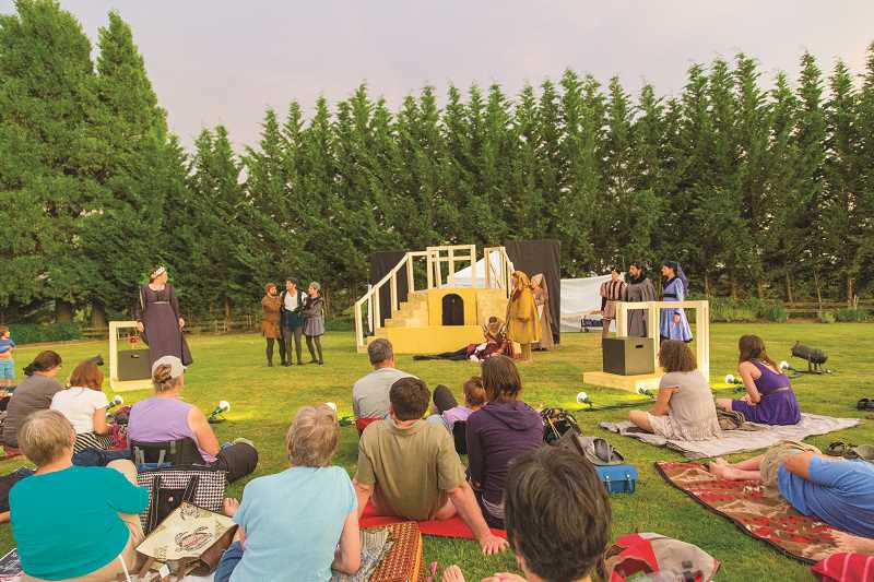 COURTESY PHOTO - A Blooming HIll Winery in Cornelius will hosts The Taming and the Shrew on aug. 3.