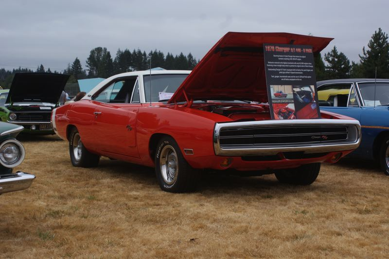 SUBMITTED PHOTO - Damascus resident Tom Benson brought his 1970 Dodge Charger R/T to last year's show.