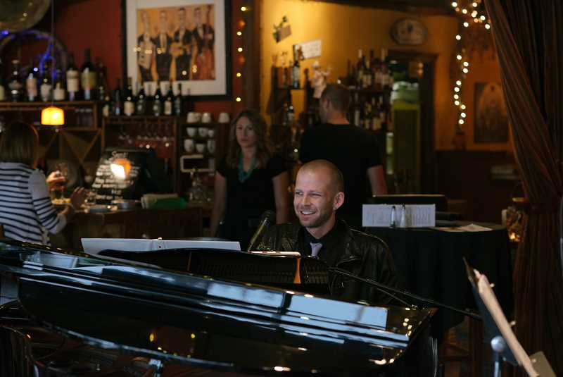 COURTESY PHOTO: KIT TAYLOR - Taylor plays jazz piano every Wednesday from 5-9 p.m. at the Chinook Winds Casino Hotel restaurant.