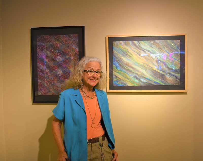 ESTACADA NEWS PHOTO: EMILY LINDSTRAND - Work from paper artist Peggy Skycraft is highlighted at The Spiral Gallery this month.