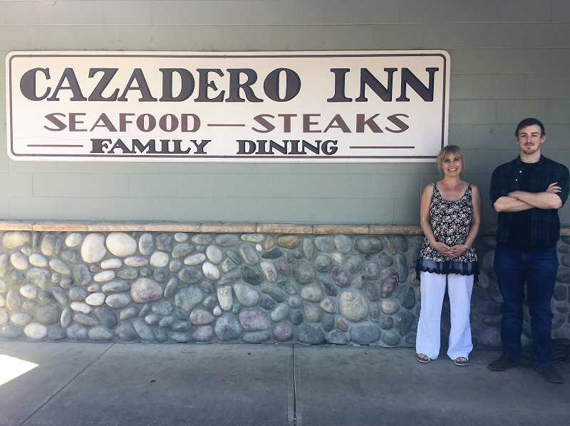 FILE PHOTO - Sherry and Cam Andrus are eager to celebrate the grand opening of The Cazadero. The two took over the restaurant in May.