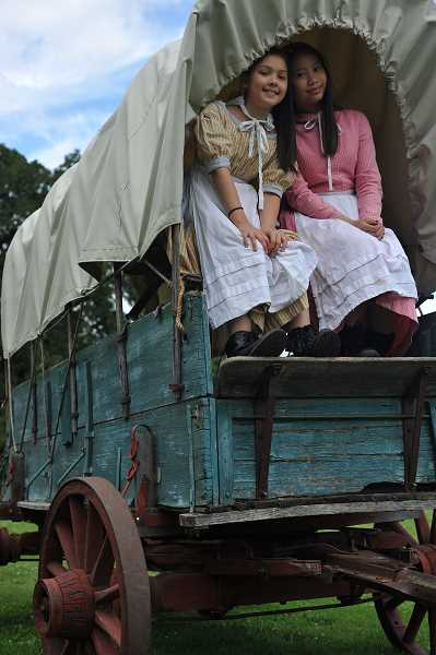 FILE PHOTO - An event on Sunday, Aug. 18, at Philip Foster Farm National Historic site in Eagle Creek will feature a farmers market, craft market and pioneer activities.