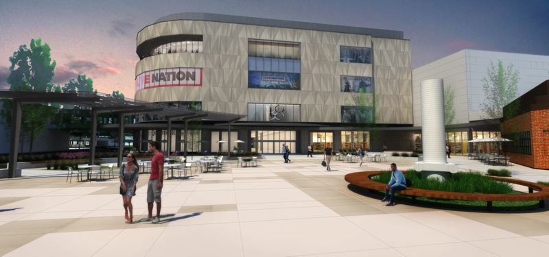 COURTESY: LIVE NATION - How the new hotspot at Lloyd Center might look as the mall rebrands itself as a family enterainment center.