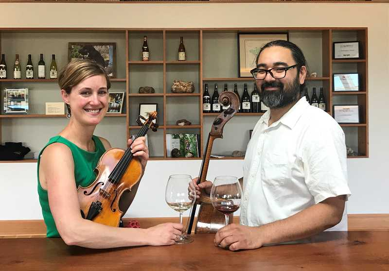 SUBMITTED PHOTO  - Sasha Callahan and her husband, Leo Eguchi, founded the Willamette Valley Chamber Music Festival three years ago. This year the festival has been expanded to six concerts over three weekends.