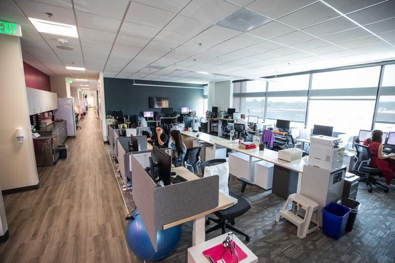 TIMES PHOTO: JONATHAN HOUSE - Spacious, well-lit and open describe the new Virginia Garcia clinic.