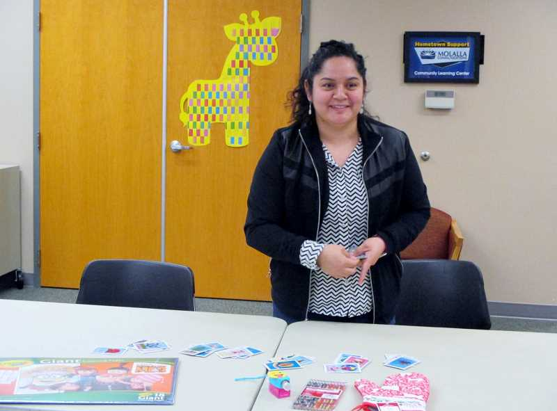 COURTESY PHOTO: DIANA HADLEY - Irene Camacho is one of the leaders of the citizenship class.