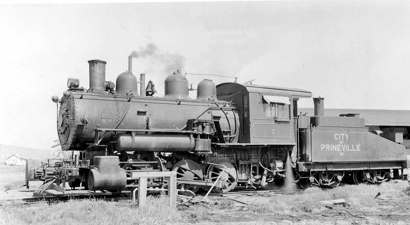 CENTRAL OREGONIAN - The City of Prineville Railway has persisted through tough times to reach 100 years in business.
