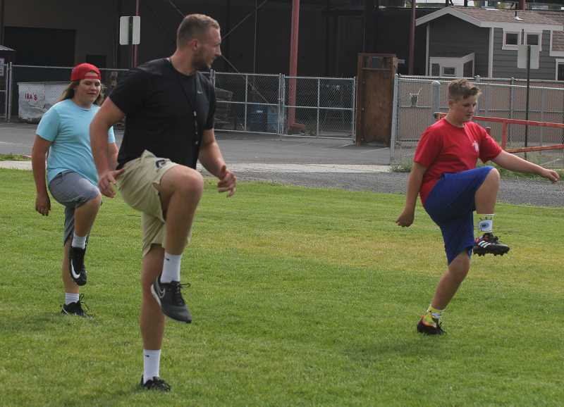 STEELE HAUGEN - A lack of a good warmup can lead to injury, and that is also certainly the case with ACL injuries.