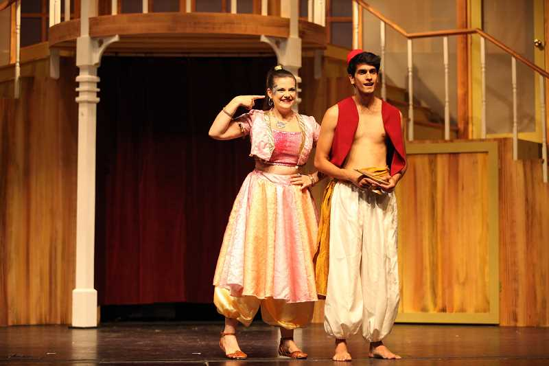 SUBMITTED PHOTO  - Broadway Rose Theatre Company presents a childrens musical Aladdin and the Magic Lamp Aug. 16 through 18.