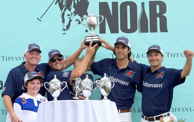 SPOKESMAN PHOTO: CLARA HOWELL  - GULFSTREAM wins the polo championship match.