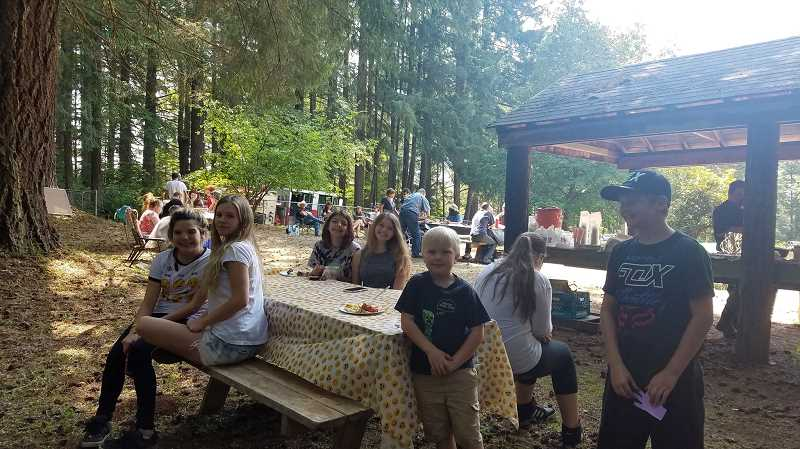 COURTESY PHOTO: BRITTANY FOOTE - The Elwood area of Colton hosted the Elwood Annual Picnic on Sunday, Aug, 12.
