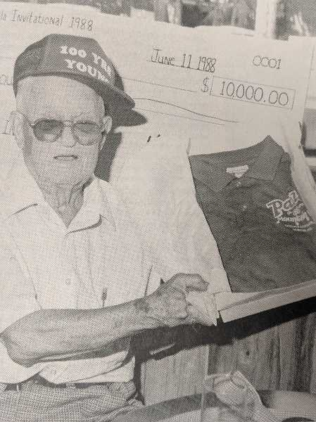 ARCHIVE PHOTO - In 1988, Estacada resident Charlie Thomas celebrated his 100th birthday.
