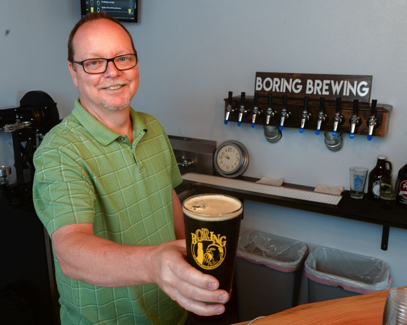 FILE PHOTO - Bill Schwartz of Boring Brewing will host 22 fellow brewers for the inaugural Boring Beer Fest from Aug. 24-26.