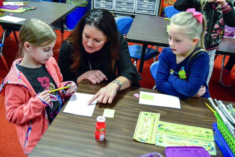 FILE PHOTO - Tara Bourland came to Firwood Elementary in 2012.