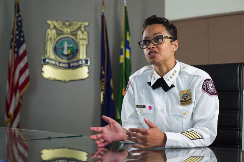 FILE PHOTO - Portland Police Chief Danielle Outlaw