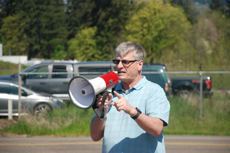 COURTESY: ASSOCIATION OF WESTERN PULP AND PAPER WORKERS - Greg Pallesen, president of the regional paper mill workers union, is seeeking to work with companies interested in reopening closed Northwest mills that still have viable production equipment.