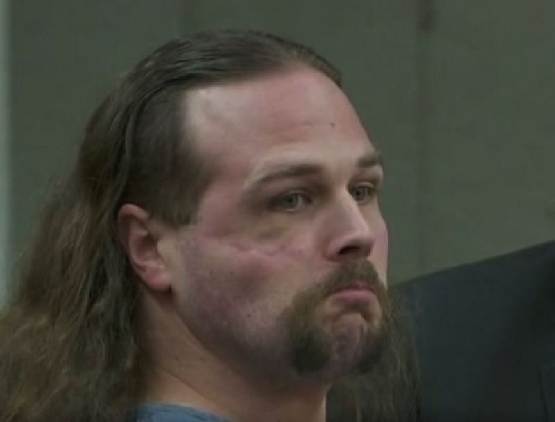 KOIN 6 NEWS PHOTO - Jeremy Christian at a court appearance in December, 2017.