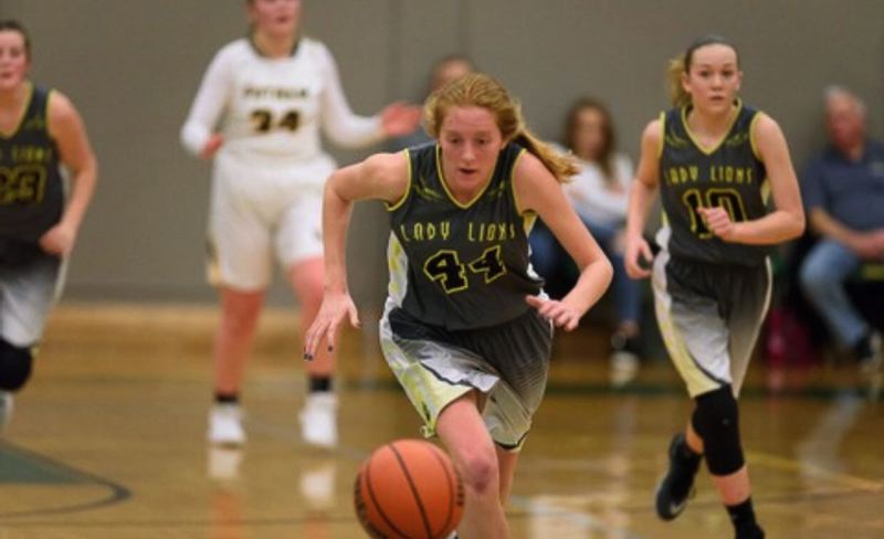 SUBMITTED PHOTO - St. Helens' Maddie Holm led the Lions in scoring last year and has been working hard to come back even better for the 2018-19 season.