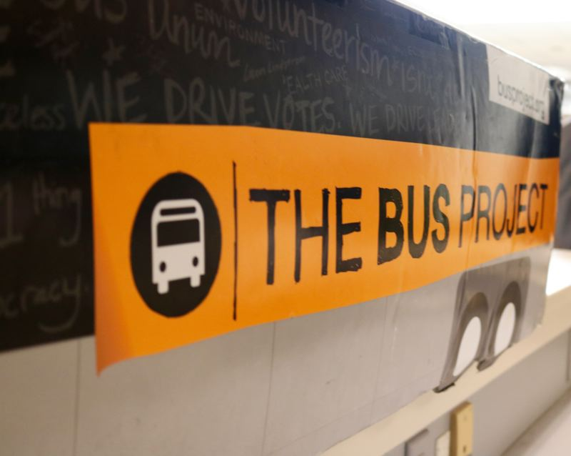 TRIBUNE PHOTO: ZANE SPARLING - The Bus Project is located at 333 S.E. 2nd Avenue in Portland.