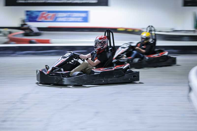 COURTESY PHOTO - Go-karters of western Washington County will soon have a new place to race, when K1 Speed opens its Hillsboro location later this fall. The 11-turn track uses electric go-karts, which can accelerate to more than 40 miles per hour.