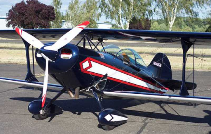 SUBMITTED PHOTO - Young pilot Ben Rose will be flying in his Pitt Special biplane.