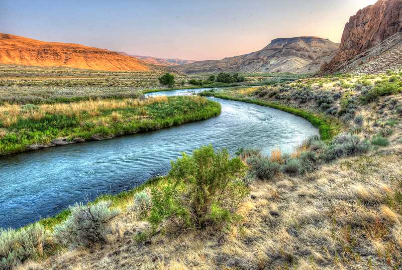 LON AUSTIN/CENTRAL OREGONIAN - The Owhyee River downstream from Birch Creek Ranch offers solitude and beautiful desert scenery.