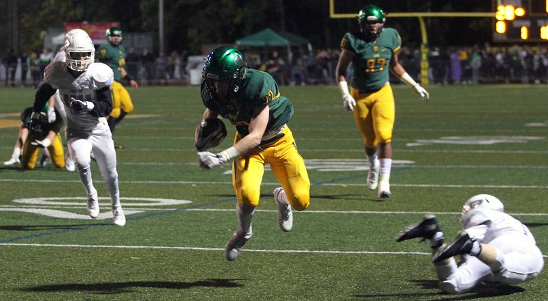 TIDINGS FILE PHOTO - West Linn junior wide receiver Casey Tawa is the team's leading returning receiver after catching 37 passes for 562 yards and three TDs last year.
