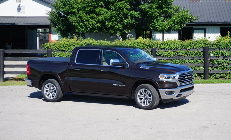 PORTLAND TRIBUNE: JEFF ZURSCHMEIDE - On the road, the new Ram is a state-of-the-art pickup truck, with great available features like blind spot monitoring that covers a trailer behind you as well as the sides of the truck itself.