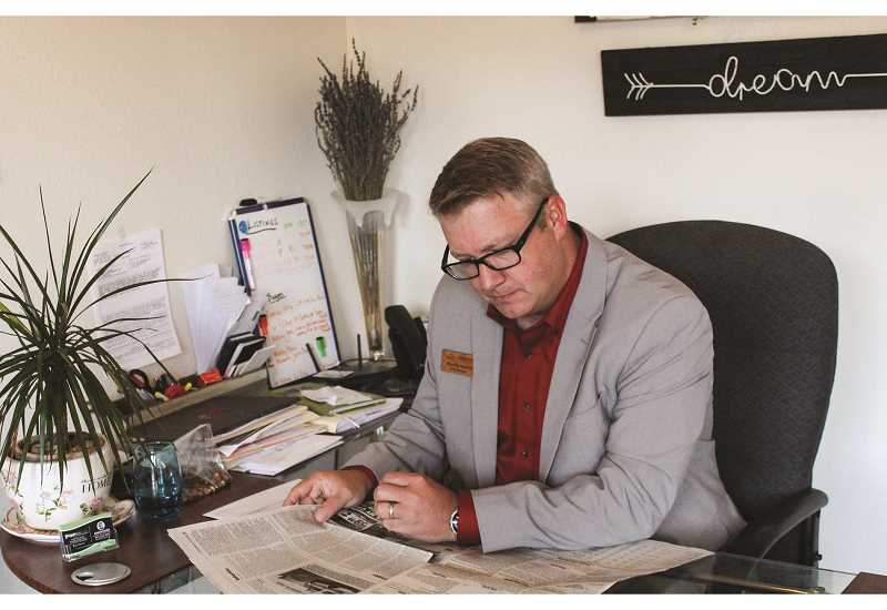 JASON CHANEY/CENTRAL OREGONIAN  - Premier Mortgage Resources area manager and loan officer Randy Vance opened a Prineville branch earlier this month, specializing in residential real estate loans.