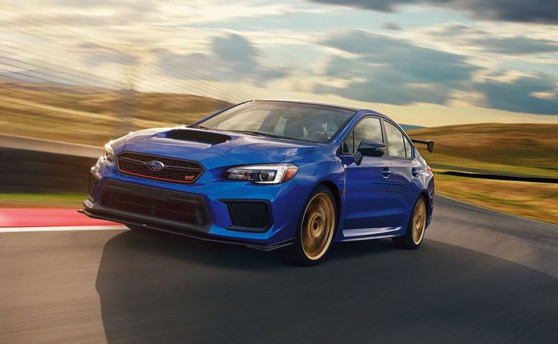 SUBARU NORTH AMERICA - The 2018 Subaru WRX STI Type RA is the ultimate version of the street racer the company first pioneered. Only 500 of the limited-edition models will be sold this year.