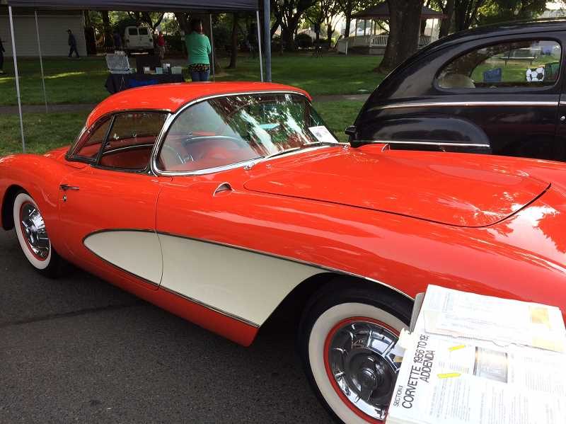 CAROL ROSEN - There were all types of classic cars on the streets around Wait Park in Canby Saturday.