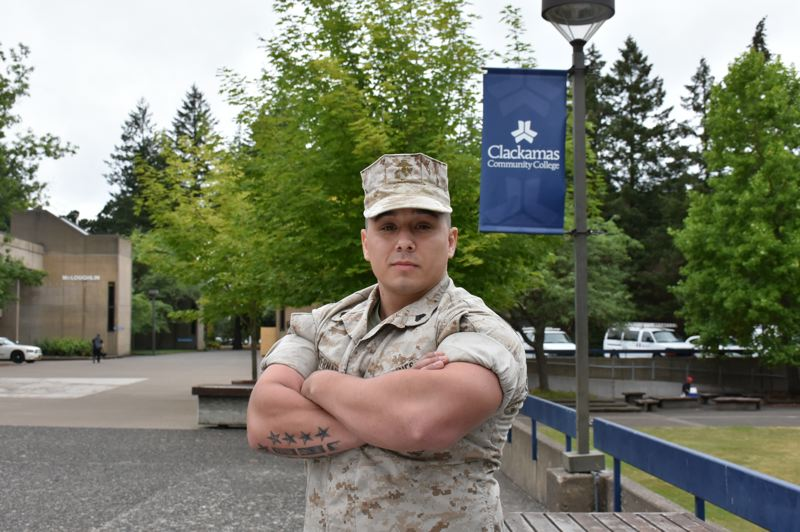 PHOTO COURTESY: CCC - Veterans like Clackamas Community College alum Jay Hernandez are invited to a free Boots to Business Reboot course and networking event at CCC's Harmony Community Campus.