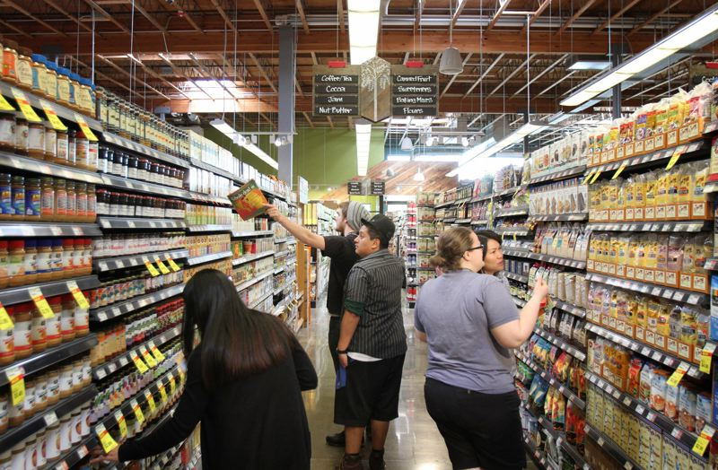 TIMES PHOTO: JONATHAN HOUSE - Whole Foods opened on Southwest Scholls Ferry Road last year. Now owenrs Amazon are bringin home delivery of groceries for Prime members to Portland.