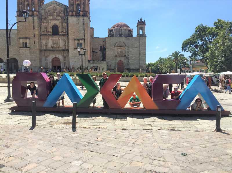 CONTRIBUTED PHOTO: BARTON CHURCH - Members of the Barton Church mission group pose for a photo in Oaxaca, Mexico.