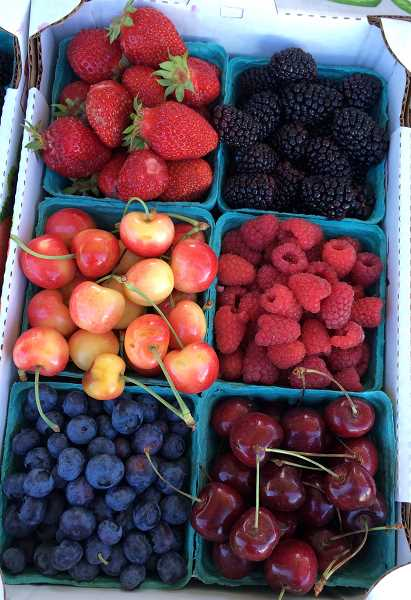 SUBMITTED PHOTO - Fresh produce is a staple of the farmers market and kids can learn about it every week.