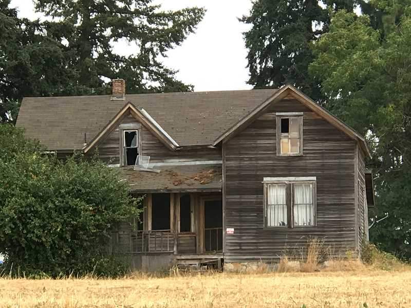 LESLIE PUGMIRE HOLE - The City of Wilsonville has granted a demolition permit for the structures on the historic farm.