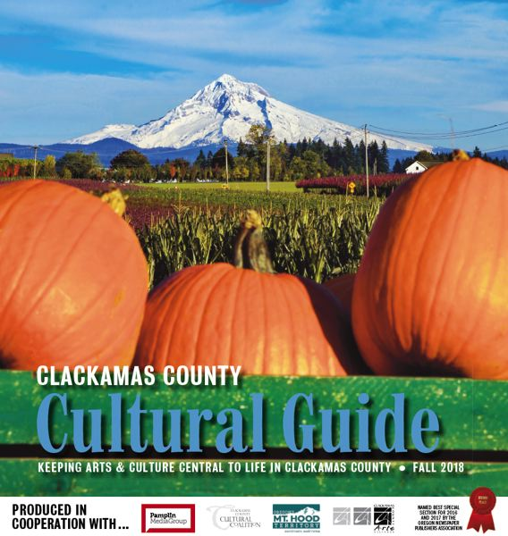(Image is Clickable Link) Clackamas County Cultrual Guide - Fall 2018