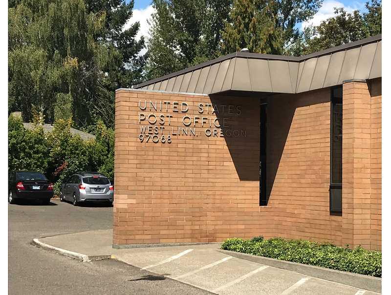 TIDINGS PHOTO: PATRICK MALEE - The West Linn Post Office will remain in place through April 2019, but in the meantime USPS will search for a new home within city limits.
