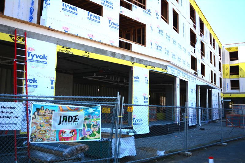 COURTESY PHOTO: BOBBY HAYDEN - The Orchards on 82nd is a  housing project from ROSE Community Development. The Jade/APANO Multicultural Space (JAMS) for the Asian Pacific American Network of Oregon will be housed on the ground floor.