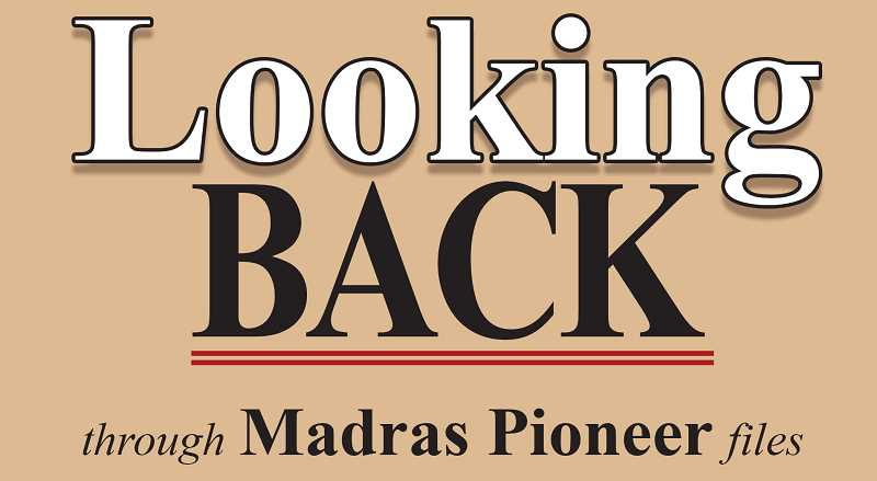 MADRAS PIONEER LOGO - The Madras Pioneer looks through the past 100 years of newspaper archives.