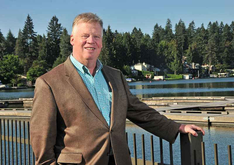 REVIEW PHOTO: VERN UYETAKE - Lake Oswego resident Donald Mattersdorff says his goals if elected to the City Council would include pushing for more park and recreational spaces, as well as a new transportation plan.