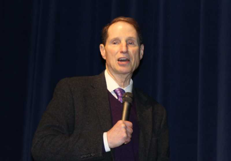 FILE PHOTO - U.S. Sen. Ron Wyden recently spoke at a hearing in Washington, D.C., on a wildfire protection bill for Crooked River Ranch.